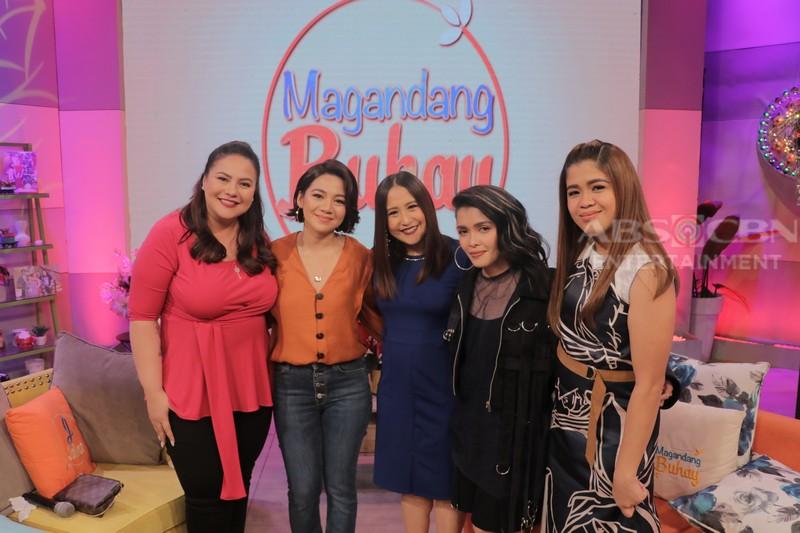 PHOTOS: Magandang Buhay with KZ, Kyla, MC & Lassy