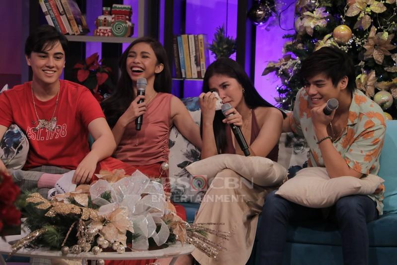 PHOTOS: Magandang Buhay with MayWard & LoiNie