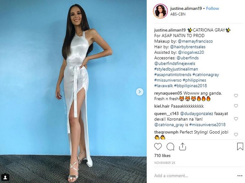 30 photos of Catriona Gray that show she's ready to conquer the Universe!
