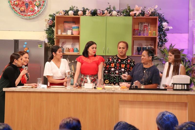 PHOTOS: Magandang Buhay with Pokwang, K Brosas & Negi