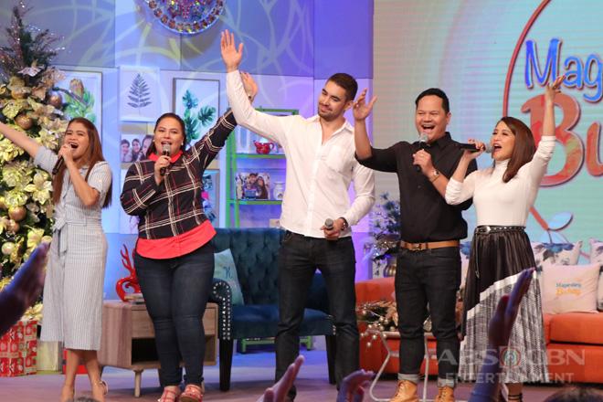 PHOTOS: Magandang Buhay with Bayani Agbayani & Clint Bondad
