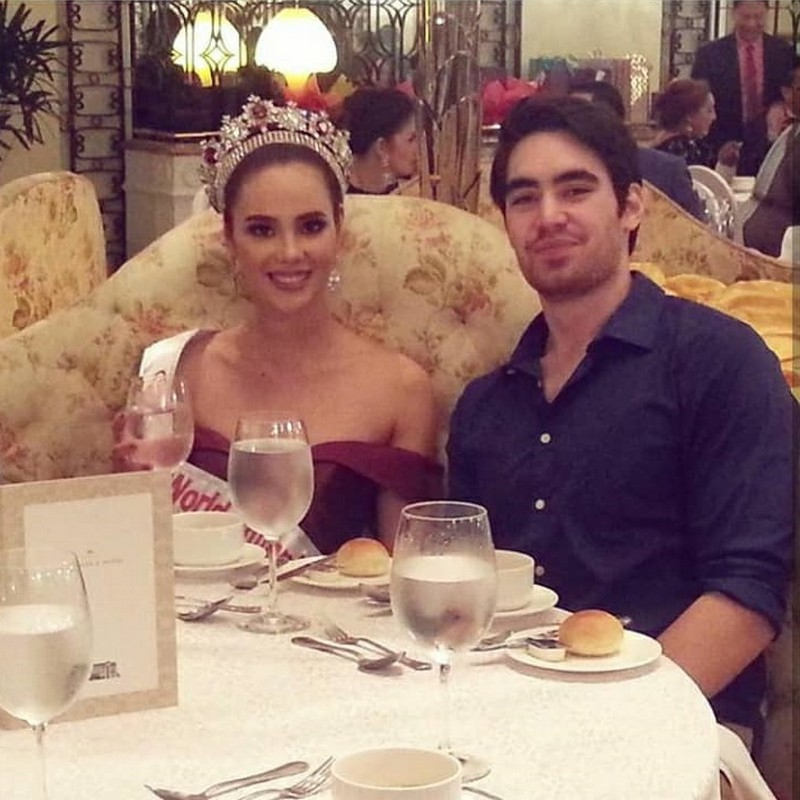 LOOK: Meet the man who owns Catriona Gray's heart for 6 years