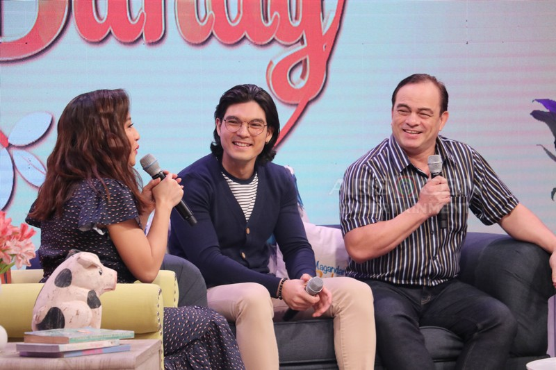 PHOTOS: Magandang Buhay with Aljur Abrenica & Joshua Colet