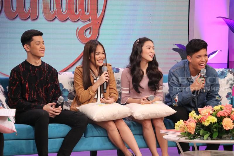 PHOTOS: Magandang Buhay with Aljon, Janine, Francine & Kyle