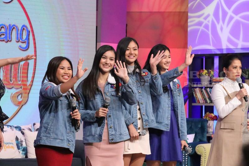 PHOTOS: PBB Otso Teen Big 4's first TV interview!