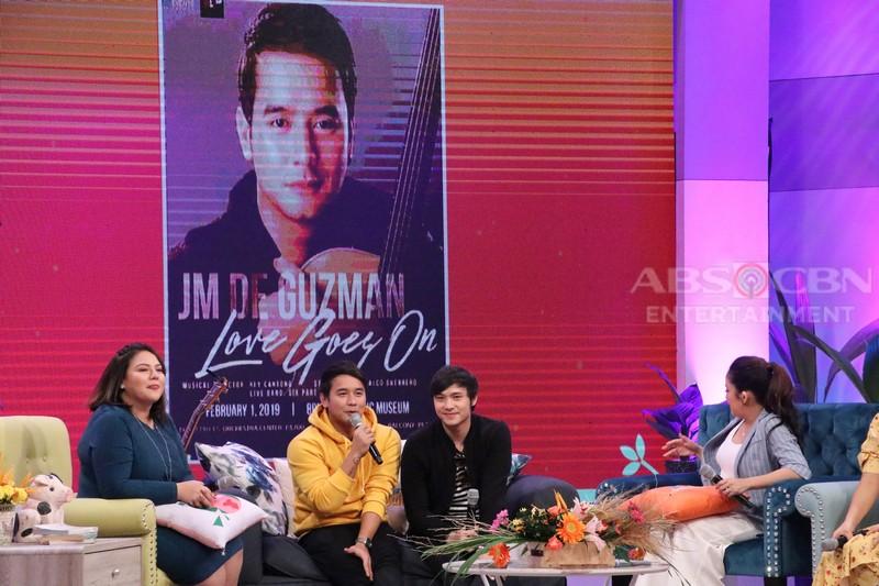 PHOTOS: Magandang Buhay with JM de Guzman & Xian Lim