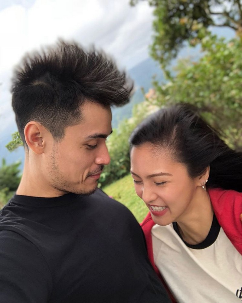 "SPOTTED! Xian's kilig moments with his ""Babe"""