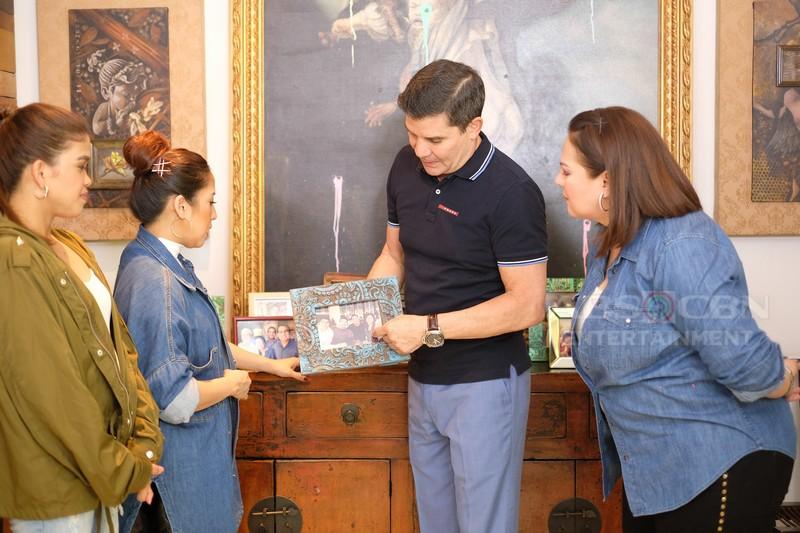 PHOTOS: Momshie Karla, Jolina & Melai visit Edu Manzano's beautiful house