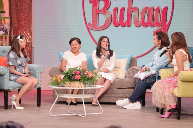 PHOTOS: Magandang Buhay with Cynthia & Camille Villar and Norma & Nikki Valdez