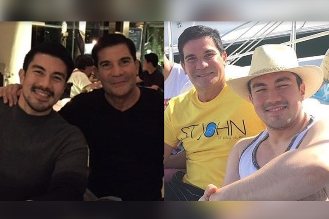 These photos of Edu & Luis show how 'LUCKY' they are to have each other