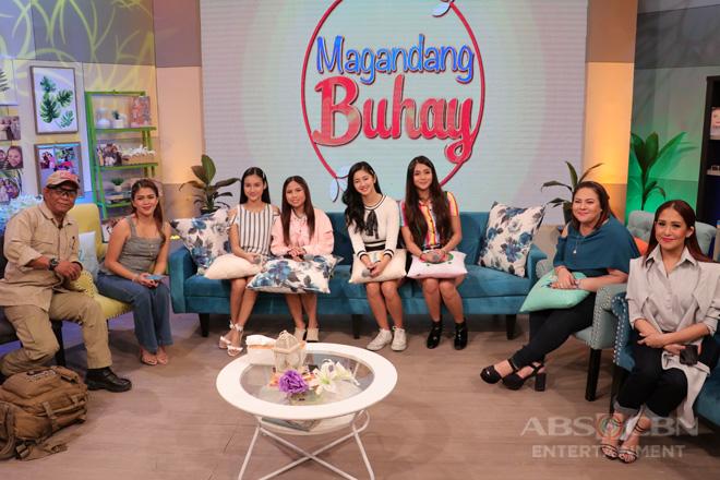 PHOTOS: Magandang Buhay with PBB Otso Teen Big 4