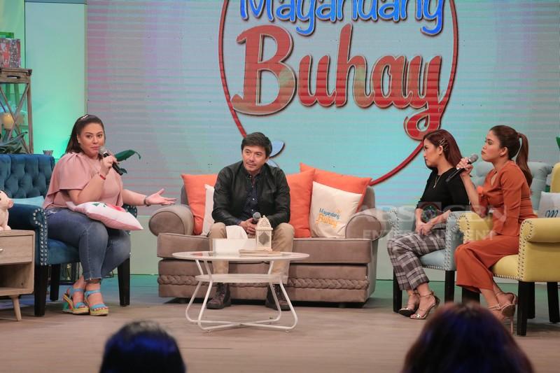 PHOTOS: Magandang Buhay with Rommel Padilla & Bong Revilla