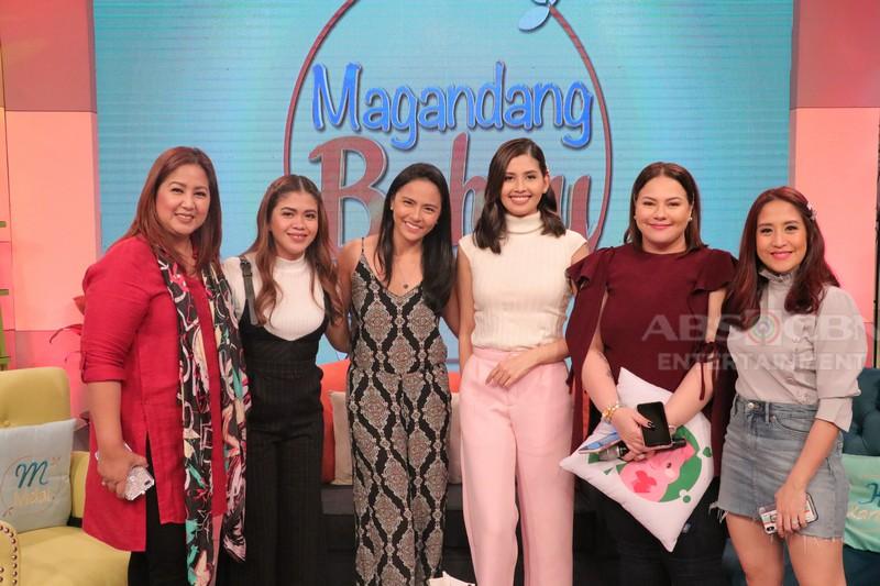 PHOTOS: Magandang Buhay with LJ Moreno & Shamcey Supsup