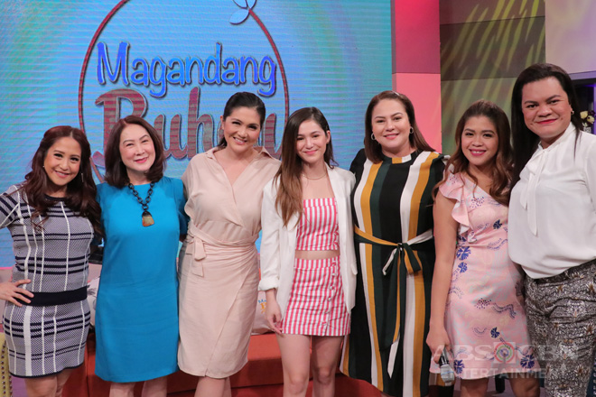 PHOTOS: Magandang Buhay with Barbie, Dimples & Juliana