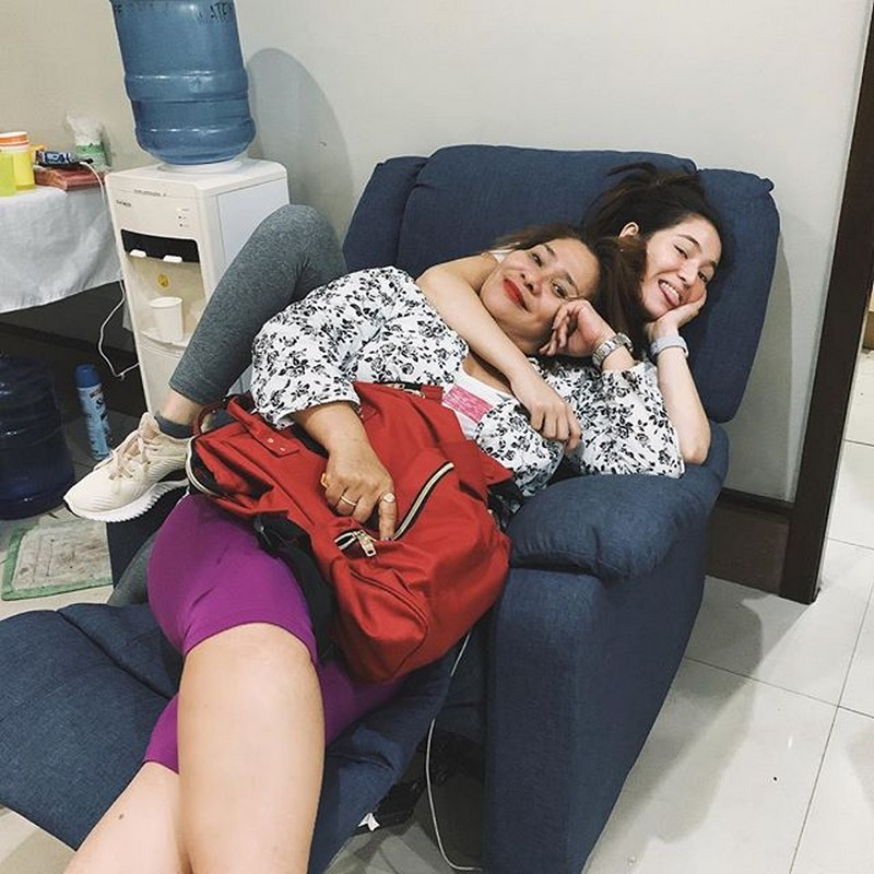 LOOK: Barbie Imperial with the person who will never leave her side