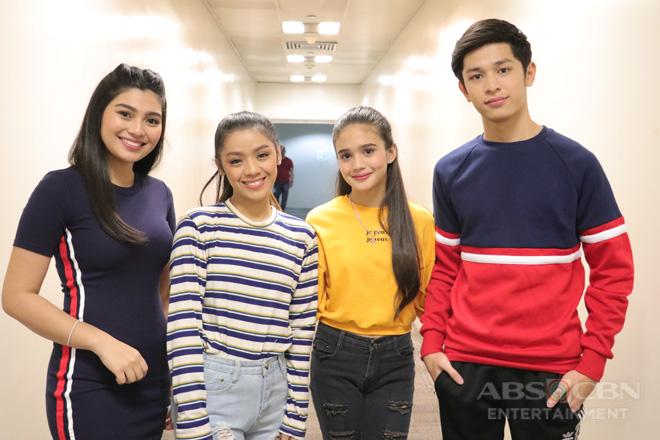 PHOTOS: Magandang Buhay with PBB Otso Ex-housemates Aljon, Abi, Criza & Apey