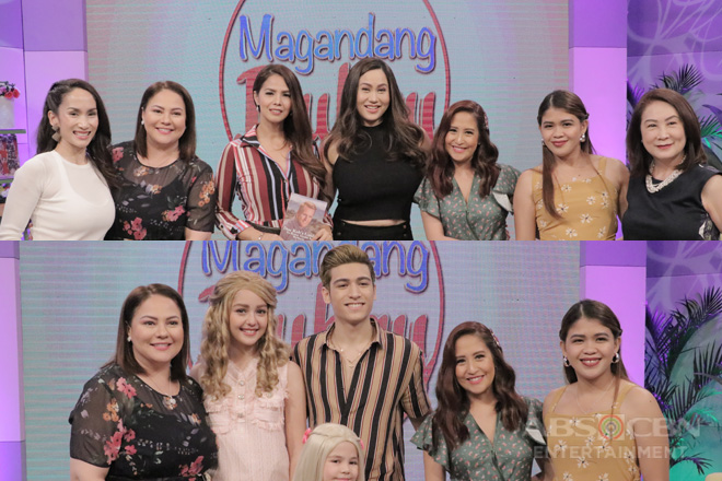 PHOTOS: Magandang Buhay with Ina, Patricia, Cristalle, Marco, Xia & Chantal