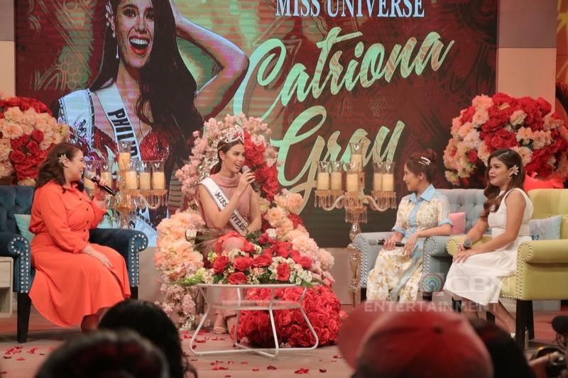 PHOTOS: Magandang Buhay with Miss Universe 2018 Catriona Gray & TNT Boys