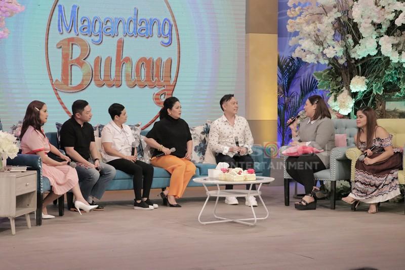 PHOTOS: Maricel Soriano's birthday celebration on Magandang Buhay!