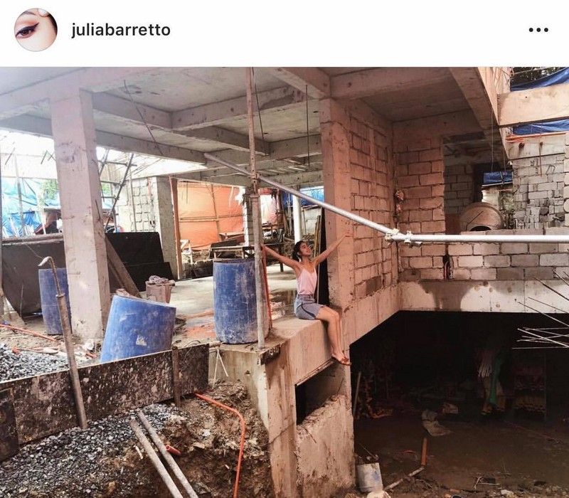 "IN PHOTOS Take a look at Julia Barretto's ""almost finished"" house"