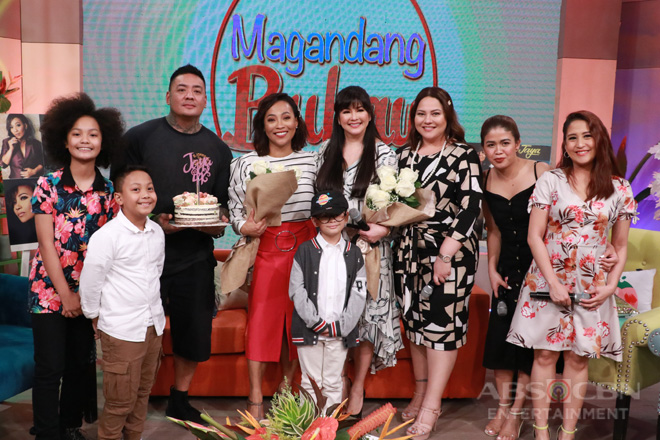 PHOTOS: Queen of Soul Jaya's 30th showbiz anniversary on Magandang Buhay