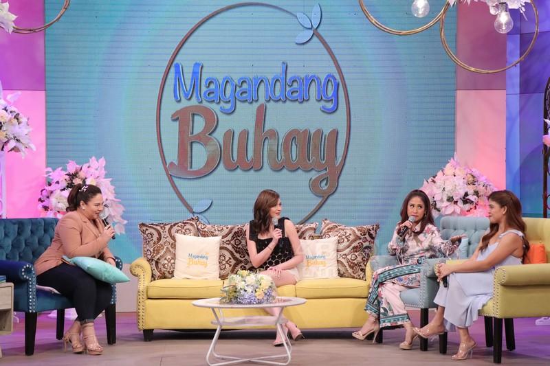 PHOTOS: Magandang Buhay with Charo Santos & Bea Alonzo