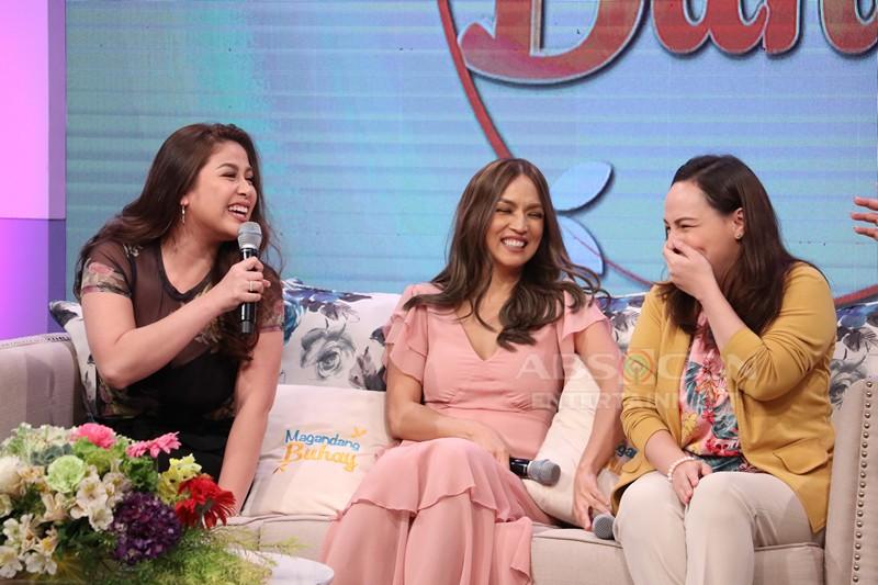 PHOTOS: Magandang Buhay with Aubrey, Valerie & Matet
