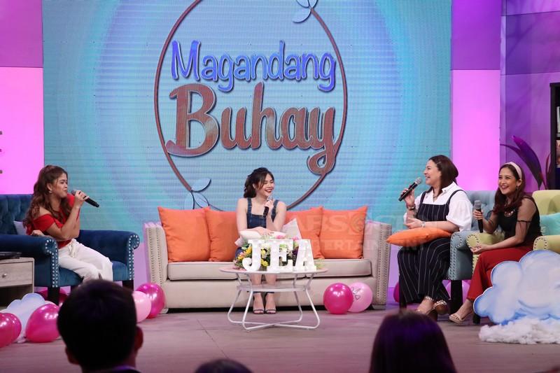 PHOTOS: Magandang Buhay with Janella Salvador