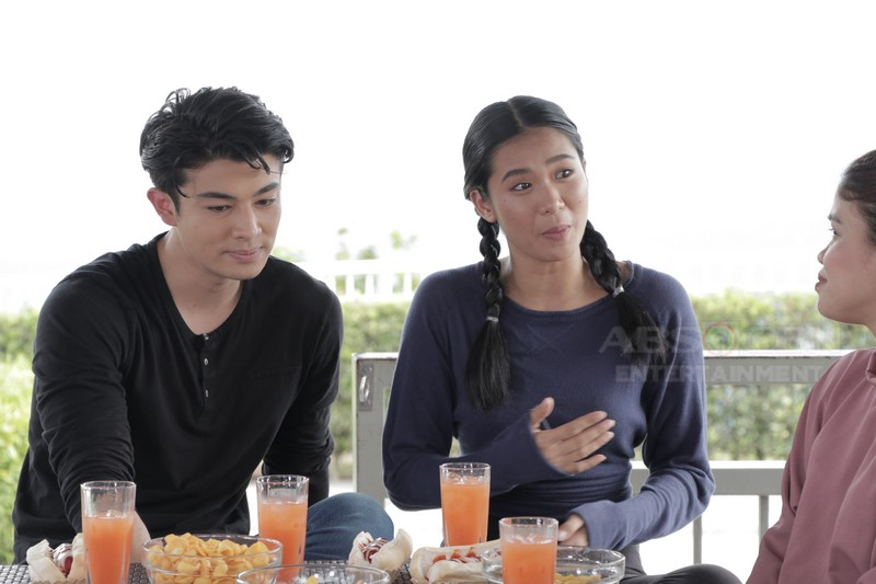 PHOTOS: LouDre's kilig stolen moments on Magandang Buhay