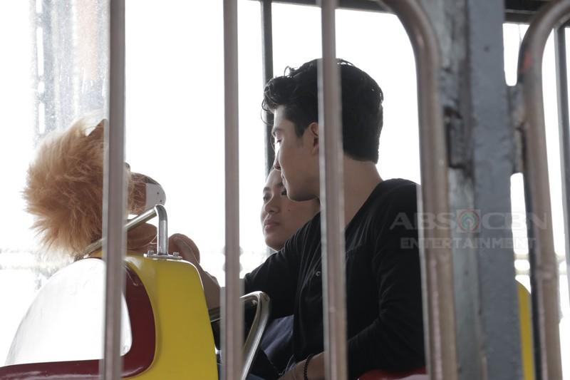 PHOTOS: LouDre's kilig stolen moments on Magandang Buhay
