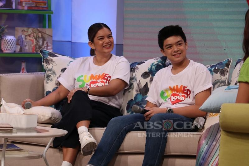 PHOTOS: Magandang Buhay with Jodi Sta. Maria & Meryll Soriano