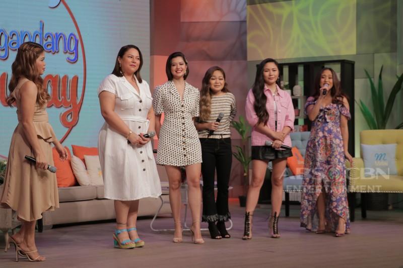 PHOTOS: Magandang Buhay with Yeng, Janine & Sue