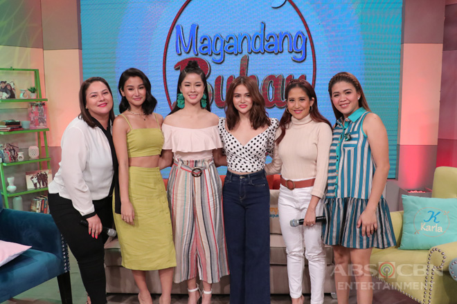PHOTOS: Magandang Buhay with Kisses, Elisse & Chienna