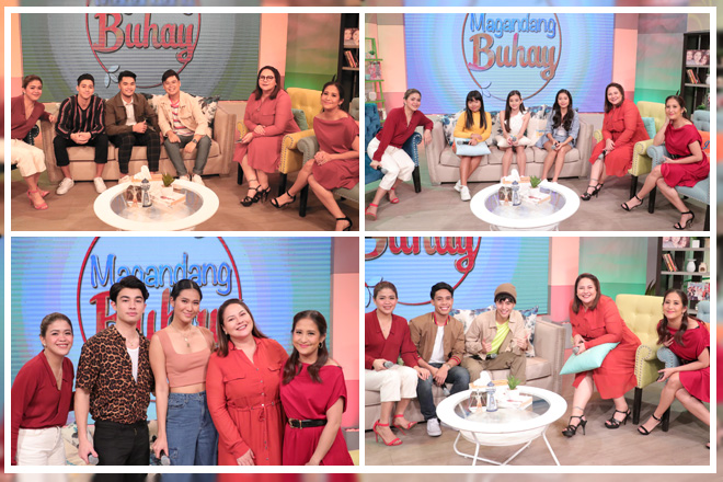 PHOTOS: Magandang Buhay with Team LAYF & Batch 3 Ex-Teen Housemates