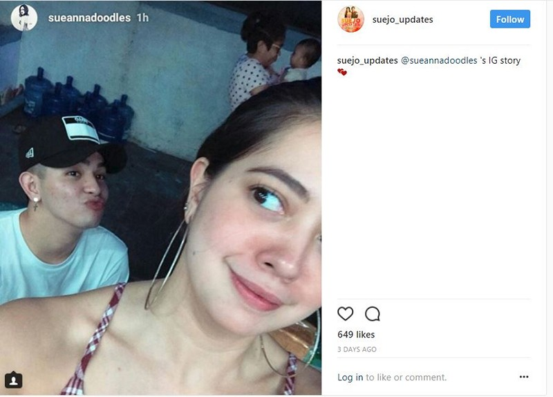 SPOTTED! Just cheesy photos of Sue & Joao