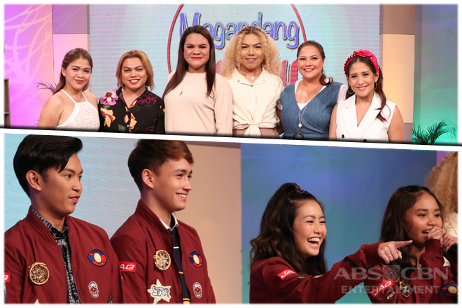 PHOTOS: Magandang Buhay with Team TBAY & Team It's Showtime Online