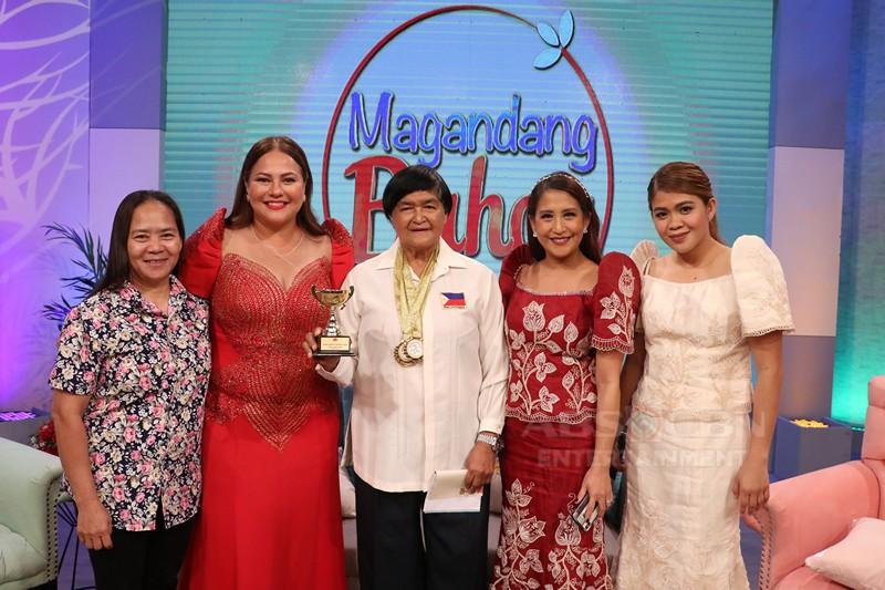 PHOTOS: Magandang Buhay Shaina, Raymond, Queen of Javelin & Pinopela
