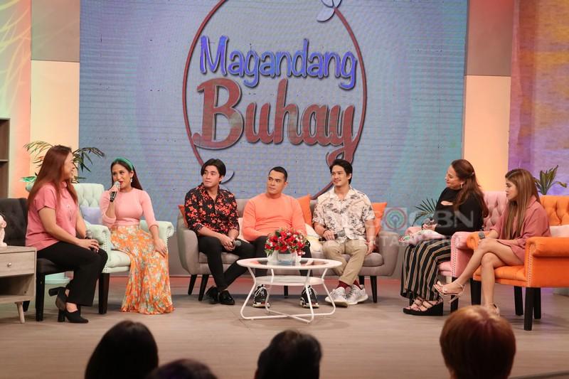 PHOTOS: Magandang Buhay with Jake, Arron & Adrian