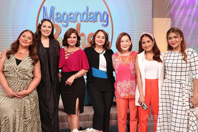 PHOTOS: Magandang Buhay with Donita, Vina & Ruffa