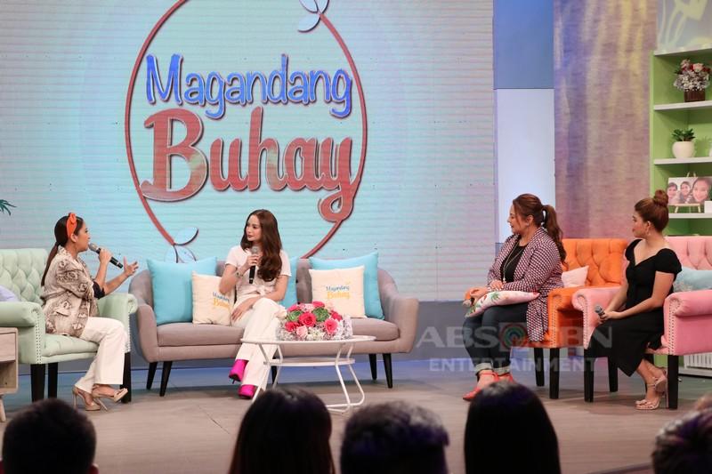 PHOTOS: Magandang Buhay with Arci Muñoz & Tirso Cruz