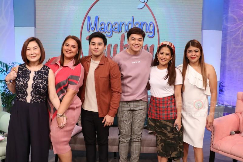PHOTOS: Magandang Buhay with Mccoy, CK, Sylvia Sanchez & Angel Aquino