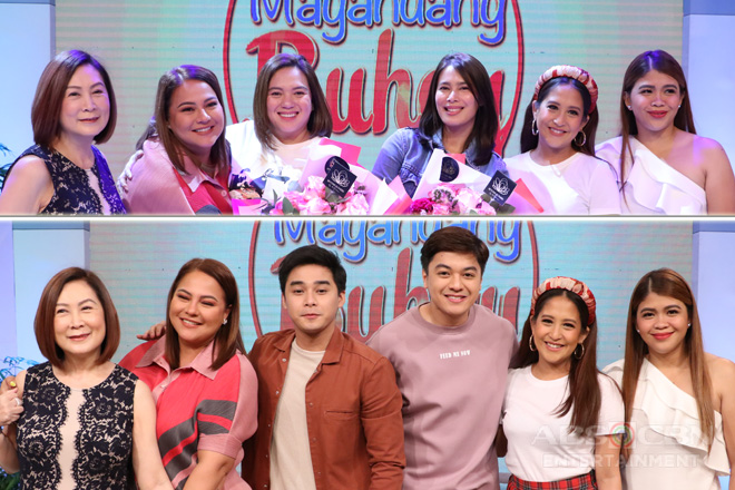 PHOTOS: Magandang Buhay with Mccoy, CK, Sylvia Sanchez & Angel Aquino