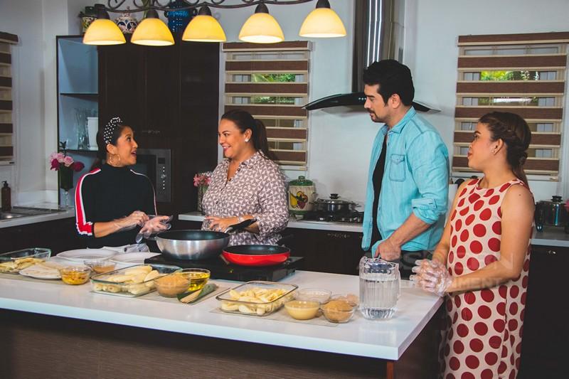 PHOTOS: Magandang Buhay with Daniel Padilla & Ian Veneracion