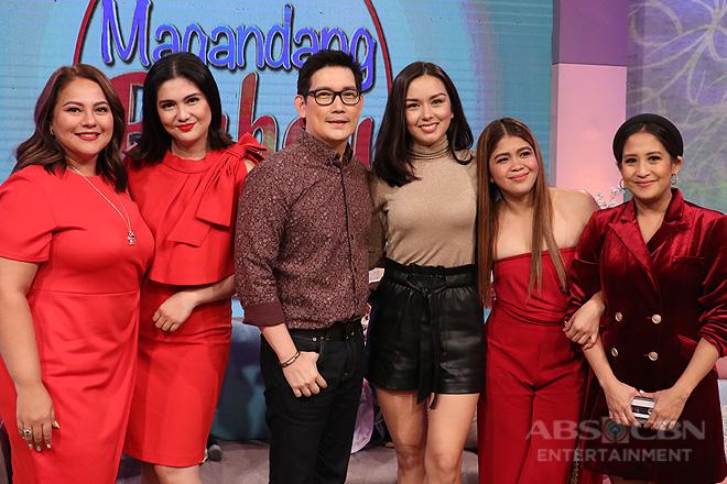 PHOTOS: Kadenang Ginto stars Dimples, Beauty & Richard on Magandang Buhay
