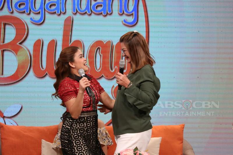PHOTOS: Magandang Buhay with Diana Mackey & Maymay Entrata