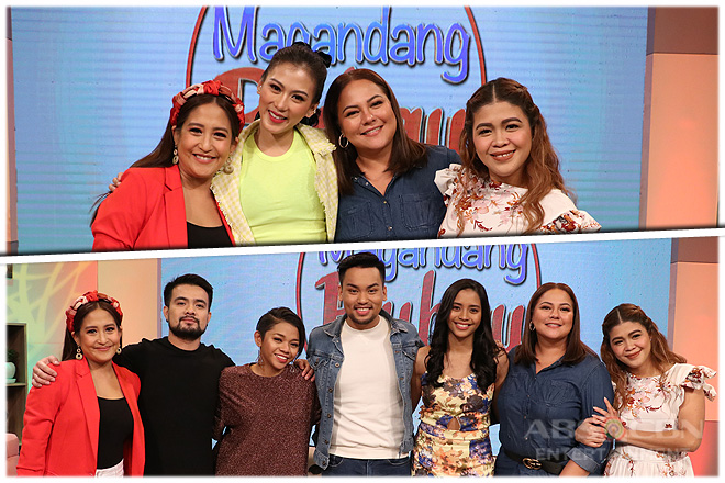 PHOTOS: Magandang Buhay with Alex Gonzaga & former Idol Philippines contestants