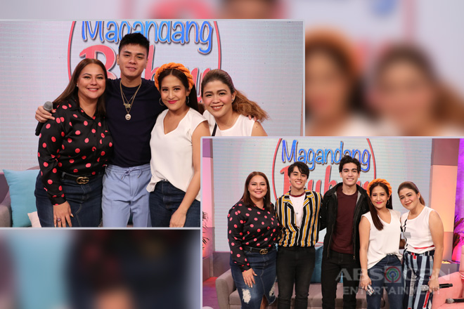 PHOTOS: Magandang Buhay with Edward Barber & Ronnie Alonte