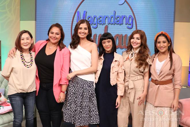 PHOTOS: Magandang Buhay with Shamcey, Kat & Nathalie