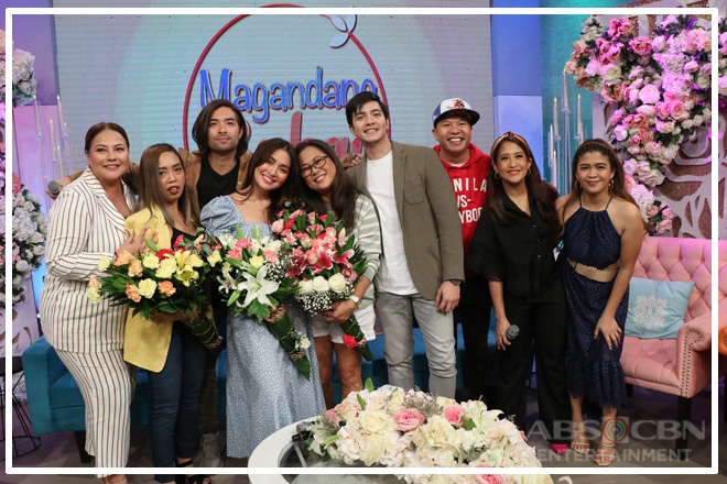 PHOTOS: Magandang Buhay with Kathryn Bernardo and Alden Richards
