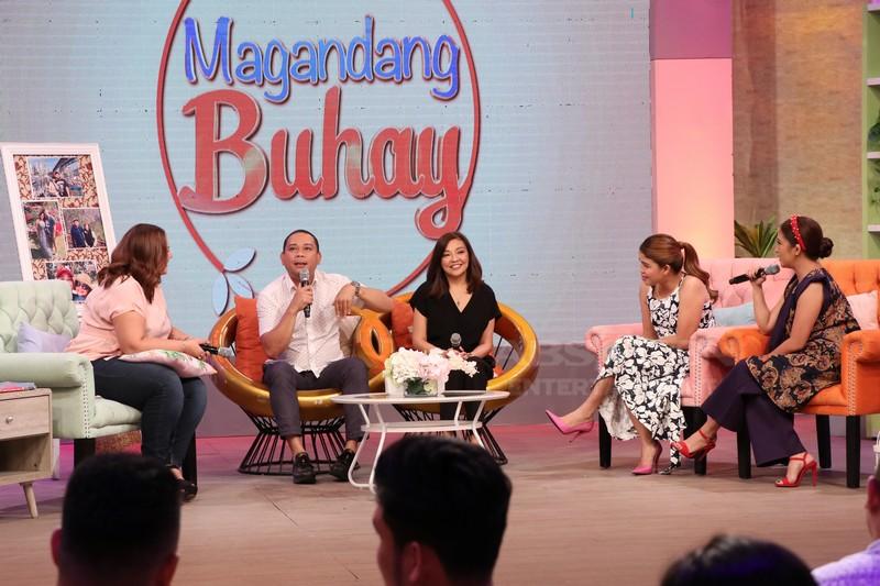 PHOTOS: Magandang Buhay with Baron Geisler and Jobert